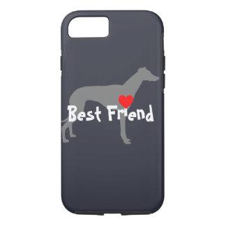 """Capa iPhone 8/7 Grayhound """"melhor amigo """""""