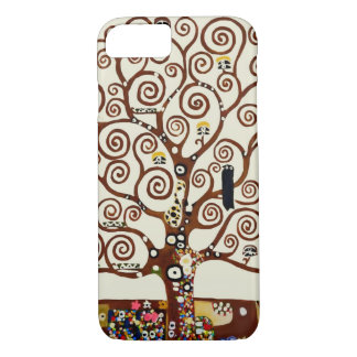 Capa iPhone 8/7 Gustavo Klimt/árvore de Life/1905