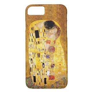 "Capa iPhone 8/7 Gustavo Klimt ""o beijo """