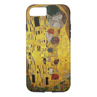 Capa iPhone 8/7 Gustavo Klimt o beijo
