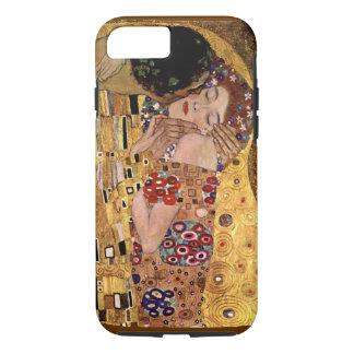 Capa iPhone 8/7 Gustavo Klimt: O beijo (detalhe)