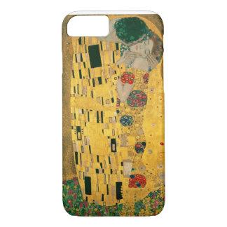 Capa iPhone 8/7 Gustavo Klimt o ouro de Nouveau Jugendstil da arte