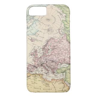Capa iPhone 8/7 Hemisfério oriental de Europa