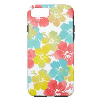 Capa iPhone 8/7 Hibiscus de PixDezines/fundo diy
