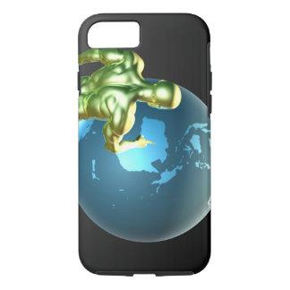 Capa iPhone 8/7 Homem de negócios que aponta em Austrália ou em