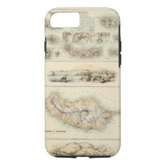 Capa iPhone 8/7 Ilhas portuguesas no Oceano Atlântico