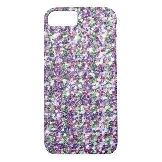 Capa iPhone 8/7 Impressão multicolorido da textura do brilho
