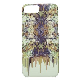 Capa iPhone 8/7 Inseto de junho, derretimento floral