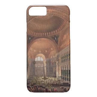 Capa iPhone 8/7 Interior de Haghia Sophia, Constantinople, bar. 18