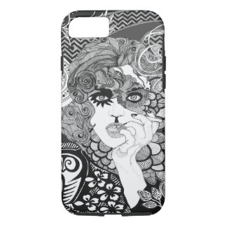 Capa iPhone 8/7 iPhone de fumo 7 da mulher, resistente