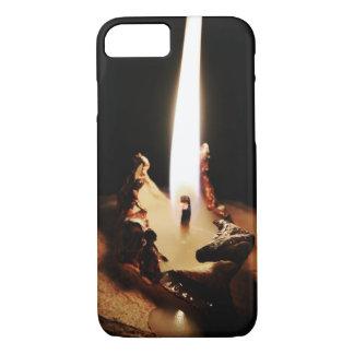 Capa iPhone 8/7 iPhone escuro da vela 8/7 de caso