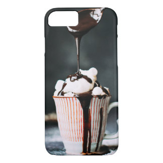 Capa iPhone 8/7 iPhone X de Apple, caso da Choco-Sobrecarga