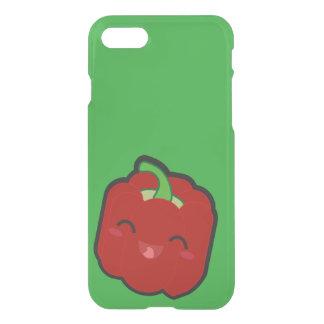 Capa iPhone 8/7 Kawaii e pimenta vermelha engraçada