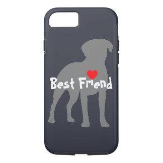 """Capa iPhone 8/7 Labrador Retreiver """"melhor amigo """""""