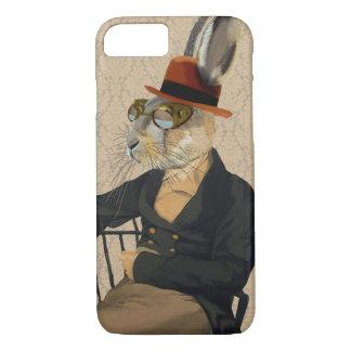 Capa iPhone 8/7 Lebre de Horatio na cadeira