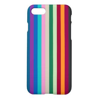 Capa iPhone 8/7 Listras verticais em cores da queda
