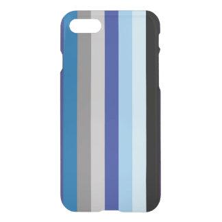 Capa iPhone 8/7 Listras verticais em cores do inverno