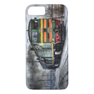Capa iPhone 8/7 Locomotiva do trem de Rússia