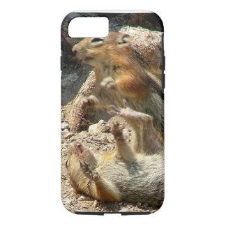 Capa iPhone 8/7 Luta do esquilo