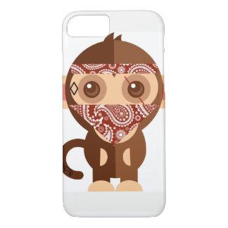 Capa iPhone 8/7 Macaco