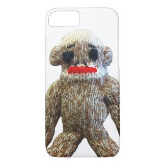 Capa iPhone 8/7 Macaco da peúga