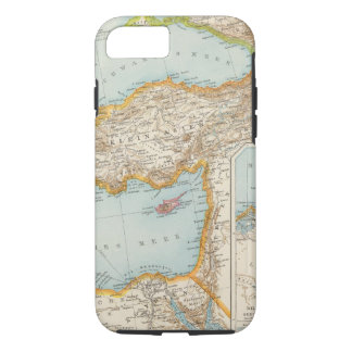 Capa iPhone 8/7 Mapa mediterrâneo oriental