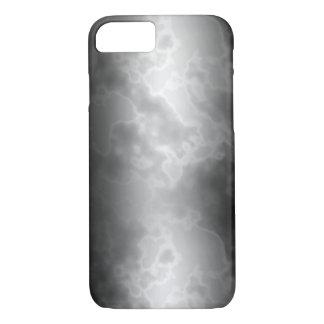 Capa iPhone 8/7 Mármore preto do carvão vegetal