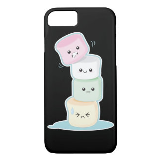 Capa iPhone 8/7 Marshmallows do Pastel de Kawaii