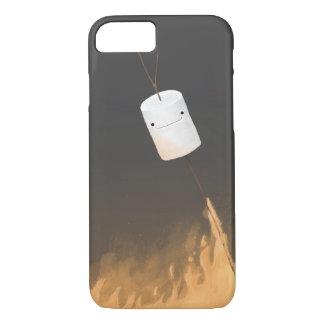 Capa iPhone 8/7 Marshmallows no fogo