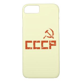 Capa iPhone 8/7 Martelo vermelho e foice de CCCP