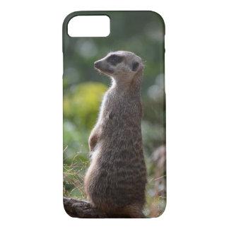 Capa iPhone 8/7 Meerkat selvagem