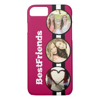 Capa iPhone 8/7 Melhores amigos personalizados