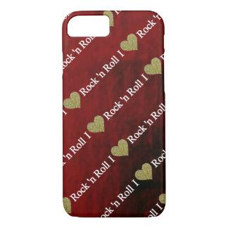 Capa iPhone 8/7 Mim rock and roll do coração