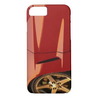 Capa iPhone 8/7 Minha Corveta vermelha