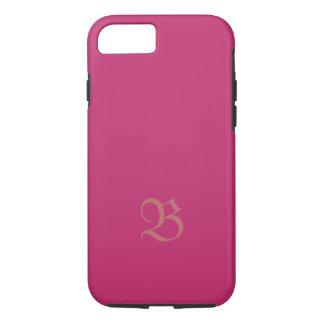 Capa iPhone 8/7 Monograma no cobrir cor-de-rosa desonesto do
