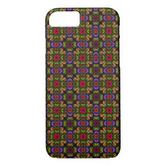 Capa iPhone 8/7 Mosaico de vidro multicolorido