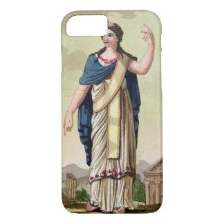 "Capa iPhone 8/7 Mulher do Patrician, no. 26 ""de Roma antiga"","