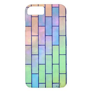 Capa iPhone 8/7 Multi tijolos Pastel coloridos