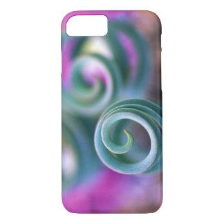 Capa iPhone 8/7 Namaqualand sul, folhas onduladas do lírio.