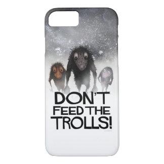 Capa iPhone 8/7 Não alimente os troll!