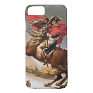 Capa iPhone 8/7 Napoleon que cruza os cumes, c.1800 (óleo em