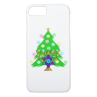 Capa iPhone 8/7 Natal e Hanukkah