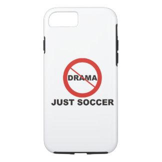 Capa iPhone 8/7 Nenhum futebol do drama apenas
