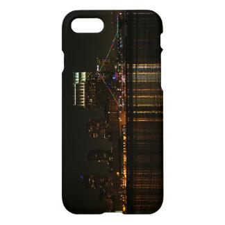 Capa iPhone 8/7 Noite da skyline de San Diego