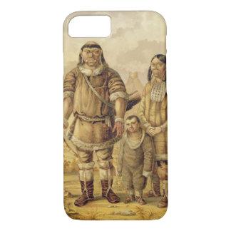 Capa iPhone 8/7 Nómadas de Chukchi, gravados por Winckelmann e por