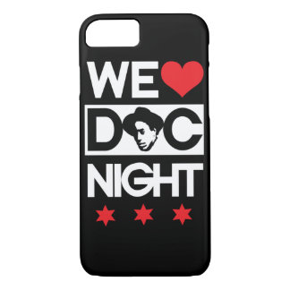 Capa iPhone 8/7 Nós amamos a noite do Doc (as estrelas vermelhas