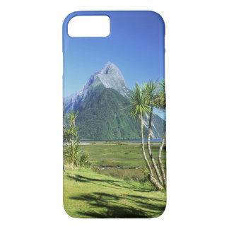 Capa iPhone 8/7 Nova Zelândia, ilha sul, pico da mitra,