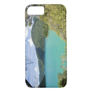 Capa iPhone 8/7 Nova Zelândia, ilha sul, sons de Marlborough