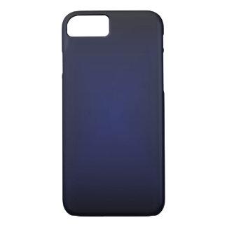 Capa iPhone 8/7 O azul desvanece-se caso do iPhone 7 mal lá