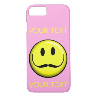 CAPA iPhone 8/7 O MODELO DO SORRISO DO SMILEY FACE PERSONALIZA